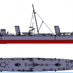 Flagship Models USS Winslow