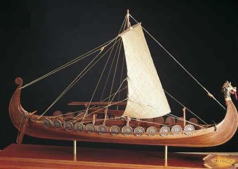 Billing Boats Oseberg - WoodenModelShipKit