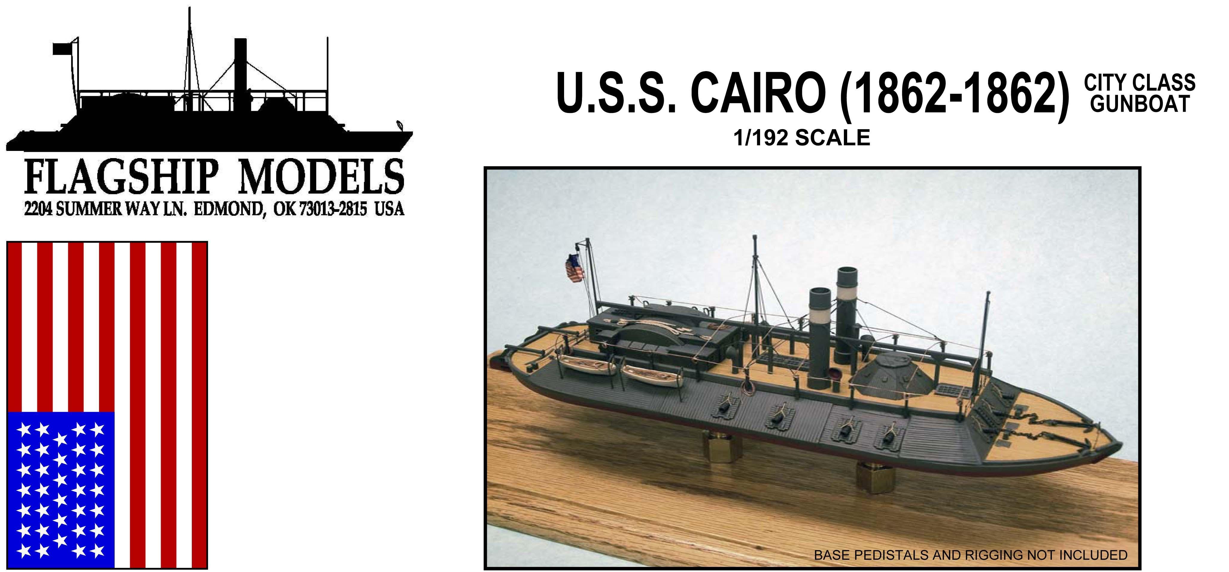 Flagship models uss cairo woodenmodelshipkit for Cairo mobel