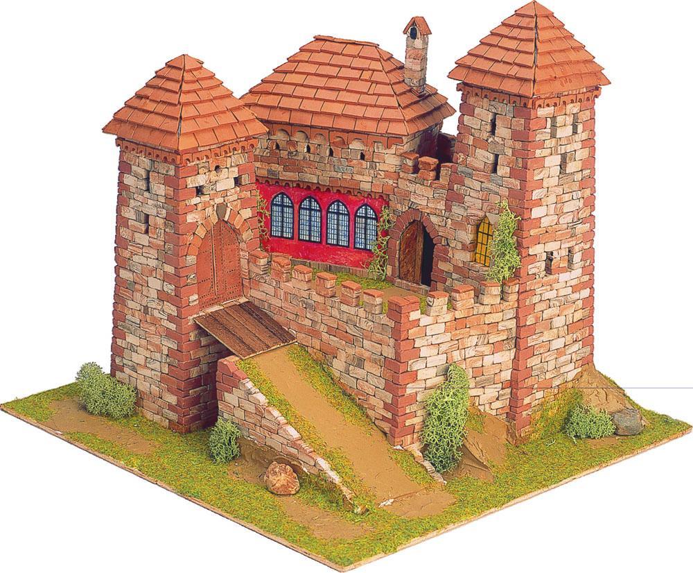 Деревянный замок своими руками