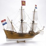 "Scale model of an English Trading Ship. Wooden hull 1:40 SCALE 24.8""H 26.38""L 7.87""W (experienced) Limited Edition kit includes building slip FREE, a $69.99 value. Available while supplies last."