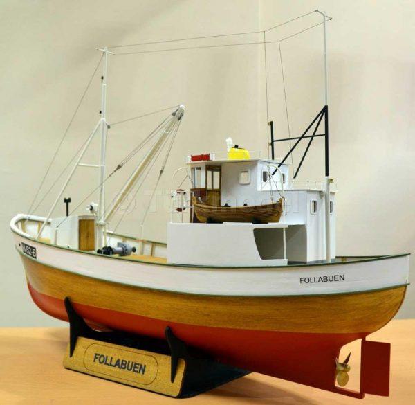 Turk Model FIsher Boat