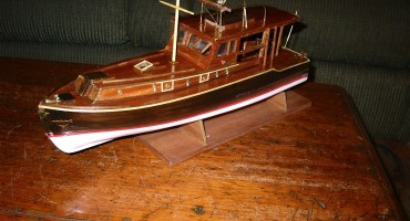 Earnest Hemingway's Pilar Submitted by Modeler William Farrell