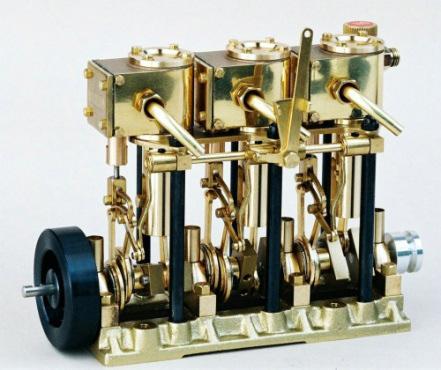 Steam Engine T3dr Saito Woodenmodelshipkit
